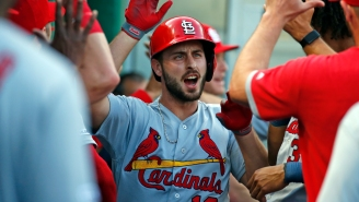 Photo Shows Paul DeJong's Home Run Landing In The 'Big Mac' Sign For A Once-In-A-Lifetime Dinger