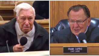 Judge Tosses Speeding Ticket Of 96-Year-Old Man When He Reveals His Reason In Video That Will Turn You Into A Puddle