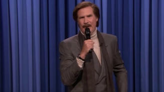 Will Ferrell Did Stand-Up Comedy As Ron Burgundy And Talked About Heckling Baseball Players And His Shawn Mendes Beef
