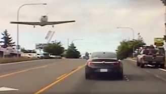 Nothing To See Here, Just A Plane Casually Making An Emergency Landing On A F*cking Highway