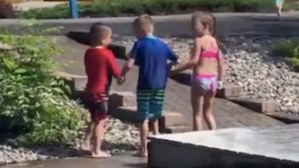 Restore Your Faith In Humanity With This Video Of Two Kids Helping Their Handicapped Friend Have Fun