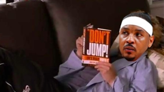 The Lakers Just Spit In Carmelo Anthony's Face By Signing The Ghost Of Jared Dudley To A One-Year Deal