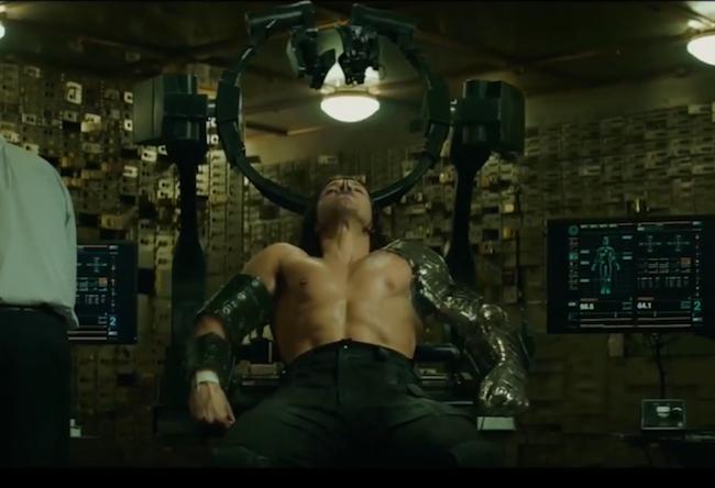 Sebastian Stan Workout Winter Soldier