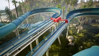 Take A Look At The Future Of Theme Parks With The World's First Roller Coaster And Waterslide Hybrid