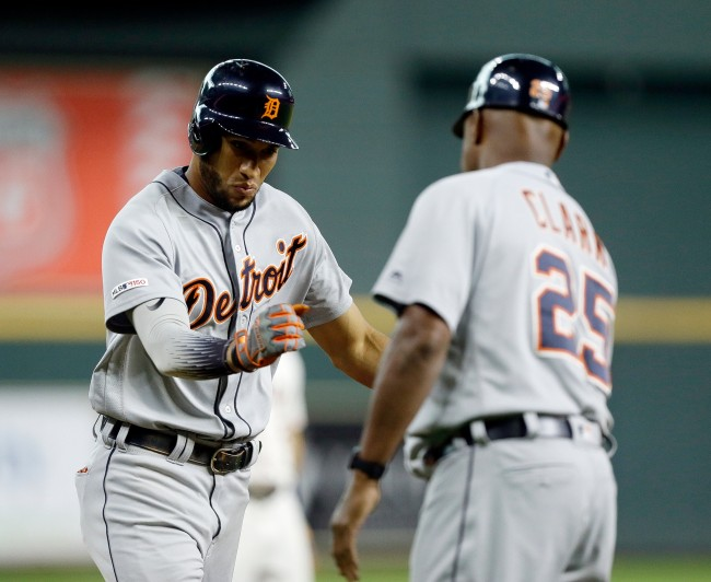 The Tigers upset the Astros last night and cost two sports gamblers thousands