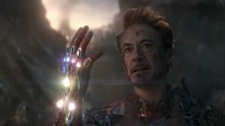 Marvel Studios President Reveals What Movie They Based Tony Stark's Final Scene On