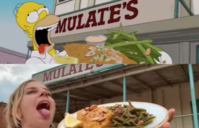 Swiss tourists recreate Homer Simpson's food tour of New Orleans