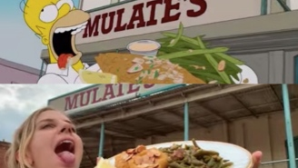 Swiss Tourists Re-enact Homer Simpson Eating His Way Through NOLA In A Shot-For-Shot Remake Of His Food Crawl
