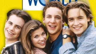 The 'Boy Meets World' Cast Reunited Sending 90s Kids Into A Swirling Vortex Of Nostalgia