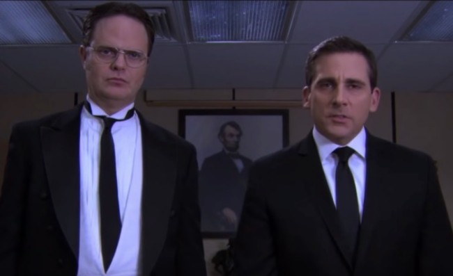 The Office Threat Level Midnight fan trailer in Mission Impossible style