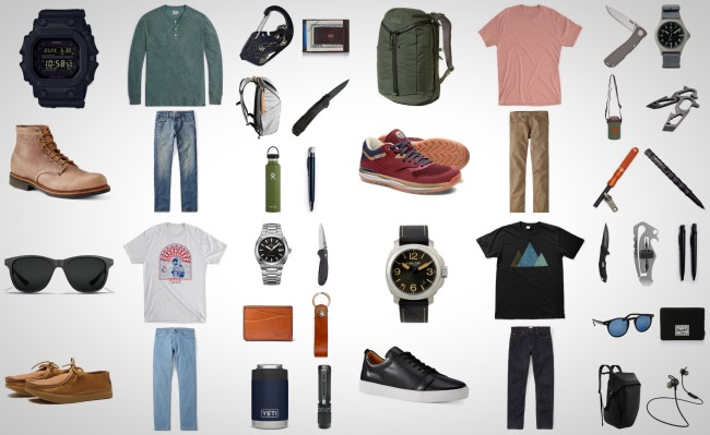 things we want August gear for men