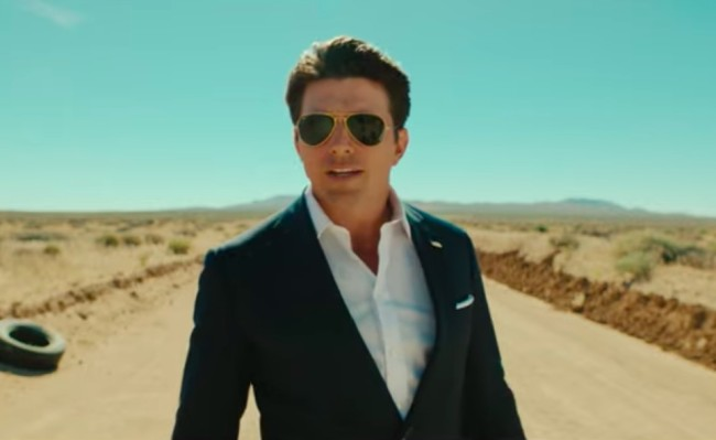 tom cruise lookalike presidential campaign video