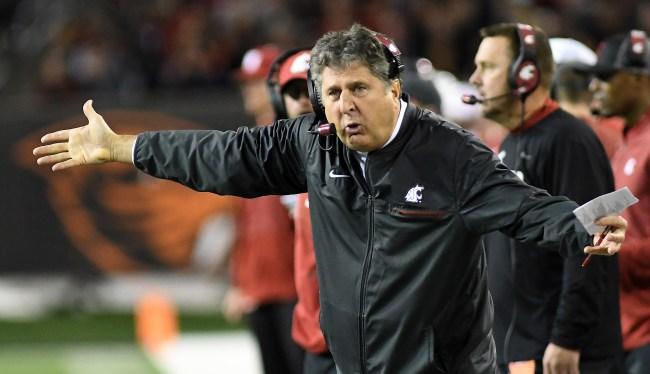 Washington State Coach Mike Leach Attacks Texas Tech On Twitter