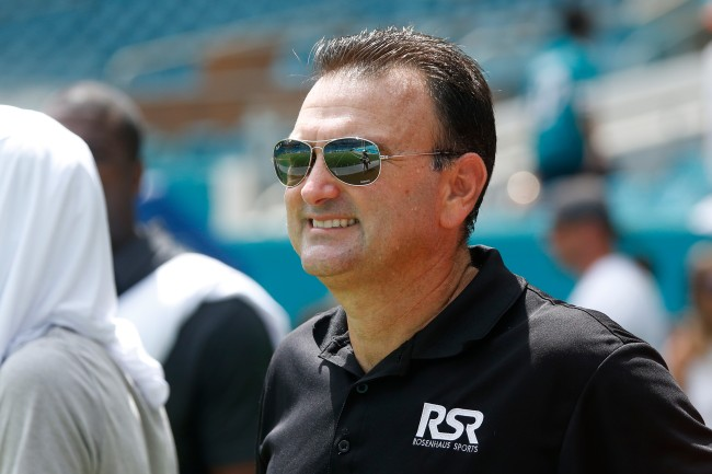Antonio Brown's agent, Drew Rosenhaus, comments about uncertainty between his client and the Raiders
