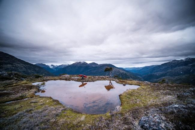 Nouria Newman kayaking adventure Patagonia