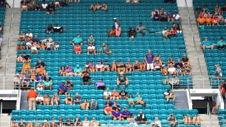 Attendance At The Dolphins Game Was So Embarrassing The Chargers Probably Felt Sorry For Them