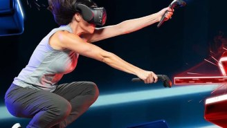 The Future Of Arcades Is Here: Main Event Now Features 'Beat Saber' In Its VR Arcade