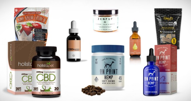 best CBD products for pets