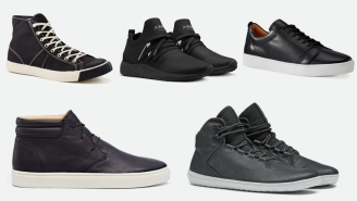 5 Blacked Out Sneakers You Might Not Find In Stores But Are Definitely Worth Rocking This Month