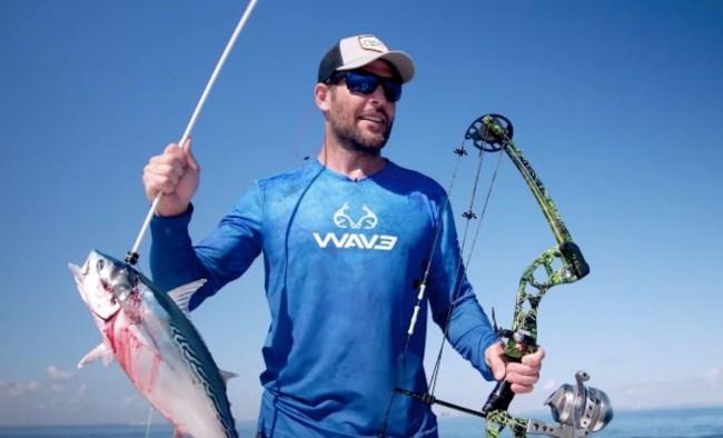 bow fishing for bonito false albacore