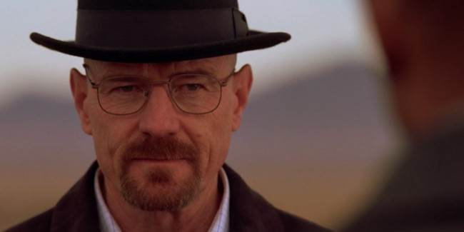 Behind the scenes photos of el camino show walter white returning to the Breaking Bad movie