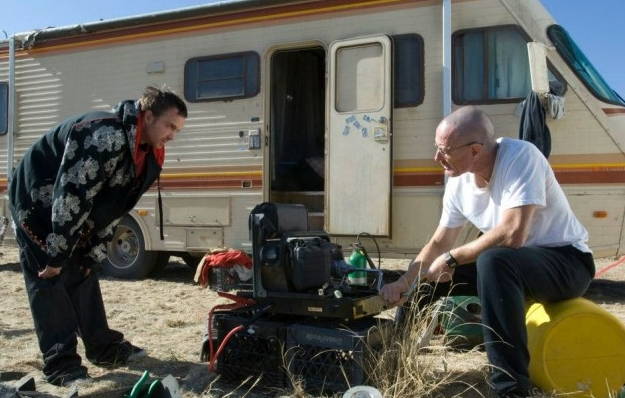 Breaking Bad audition tapes including Aaron Paul as Jesse Pinkman and Dean Norris before El Camino movie is released.