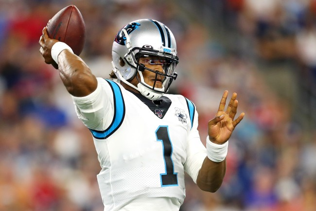 A sports gambler bet $9,500 on the Carolina Panthers to win the Super Bowl and it could pay $495,000