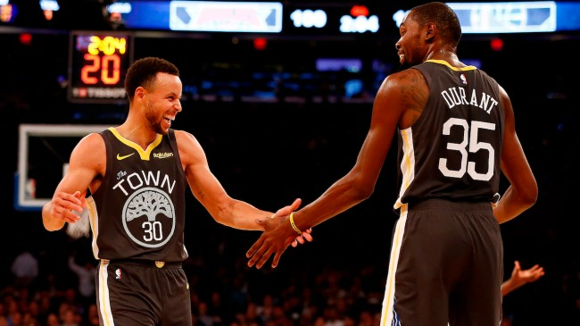 curry and durant