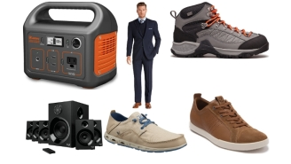 Daily Deals: Soundbars, ECCO Shoes, Lawn Care, Lucky Brand Clearance, JoS. A. Bank Fall Suit Sale And More!