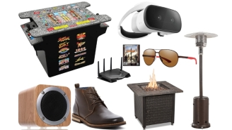 Daily Deals: Street Fighter Table Arcade, Kenneth Cole Suits, Boots, Routers, Get Ready For Fall Clothing Sale And More!