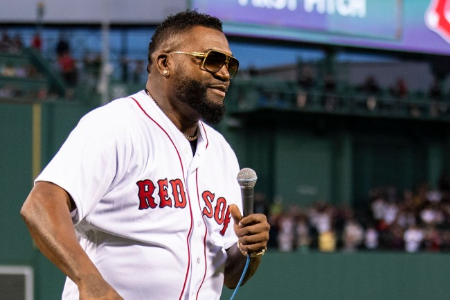 david ortiz emotional return fenway park