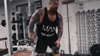 Strongman Eddie 'The Beast' Hall Suffers Brutal Injury That Will Stop Him Fighting Hafthor Bjornsson