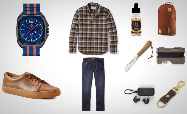 everyday carry essentials for get up and go