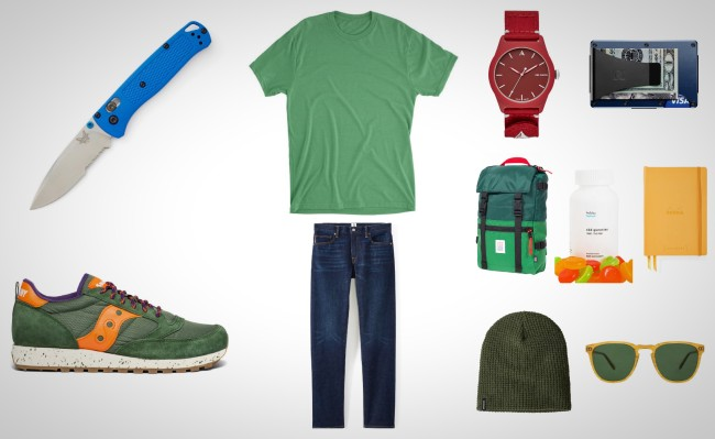 everyday carry essentials primary colors