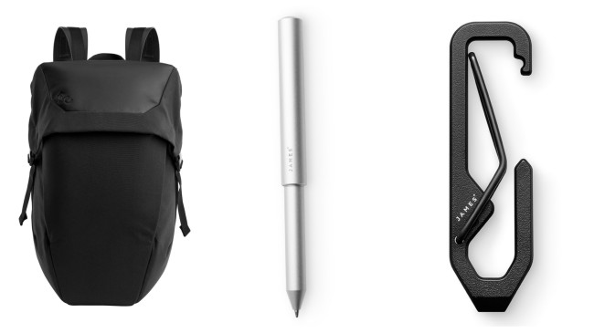everyday carry gear black and white