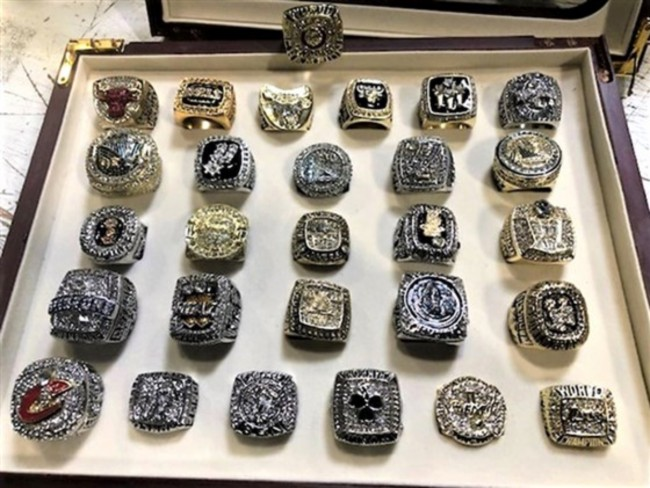 Fake NBA Championships rings seized by U.S. Customs and Border Patrol