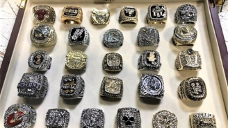 These Two Dozen Fake NBA Championship Rings Valued At $560K Seized By US Customs Look Pretty Legit