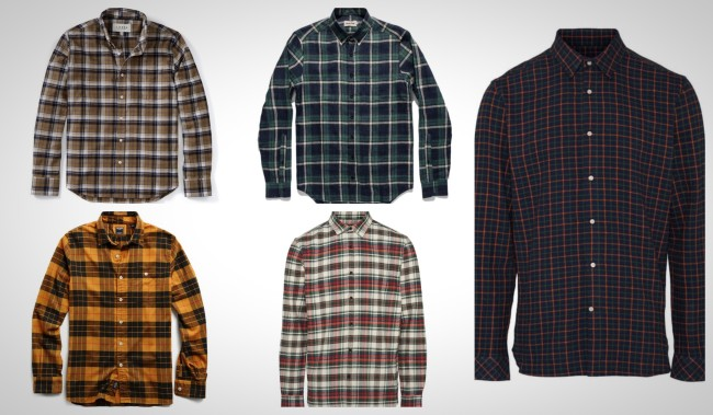 best Fall flannel shirts for men