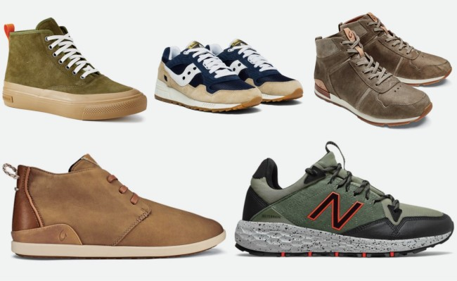 Fall 2019 Shoes and Boots for Men