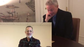 Gary Sinise Gets Blindsided By An Emotional Thank You Video From Tom Hanks And Others For His Work With The Troops