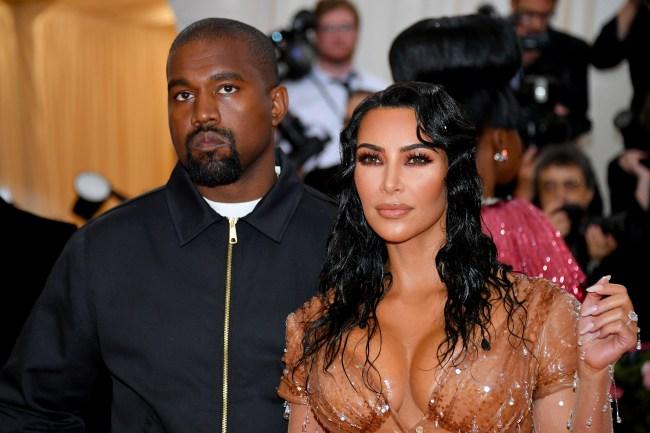 Kanye West Yeezy and Kim Kardashian
