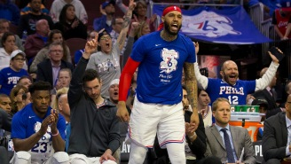 Sixers' Mike Scott Showed Up To Eagles Game Wearing A Redskins Jersey, Gets Into Fight With Fans And Drops A Few Of Them