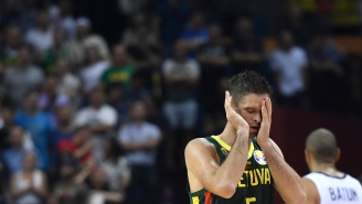 FIBA Referees Fired After Unforgivable No-Call In Final Seconds Sends Lithuania Coach Into Hysterics