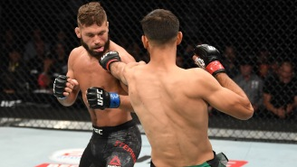 Video Shows Jeremy Stephens And Yair Rodriguez Nearly Getting Into A Brawl And Yelling Gay Slurs At Each Other In Hotel Lobby
