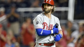 Bryce Harper's Wife Rips 'Classless' Nationals Fans For Heckling Bryce By Wishing Ill On Their Infant Son