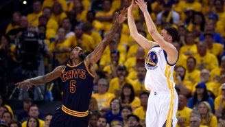 J.R. Smith Joins The Rest Of The Internet In Blasting ESPN For Ranking Klay Thompson As 49th Best Player In The NBA