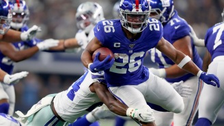 Saquon Barkley Offers To Fly Out Kid Who Got Dissed By Cowboys' DeMarcus Lawrence And Give Him Free Tickets To Giants Game
