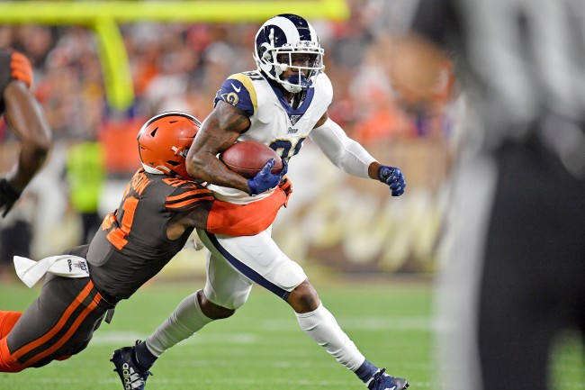 LA Rams and Cleveland Browns