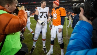 Joe Thomas Reveals Peyton Manning Once Called Him Up With A Master Plan To Get Him Traded From The Browns That Involved A Giant Human Turd