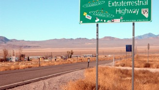 The 'Storm Area 51' Raid Has Begun With A Naruto Run, Detainments And Some Very Interesting Signs